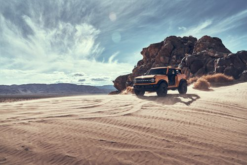 Ford Bronco SUV 2020 Desert Automobile Car Photography
