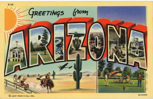 Greetings From – Immigrant Story Classic Vintage Retro Travel Postcard Art – Smithso ...