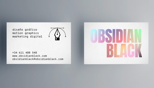OBSIDIAN BLACK Multidisciplinary Creative Design Studio 3D Motion Graphics Marketing Digital Col ...