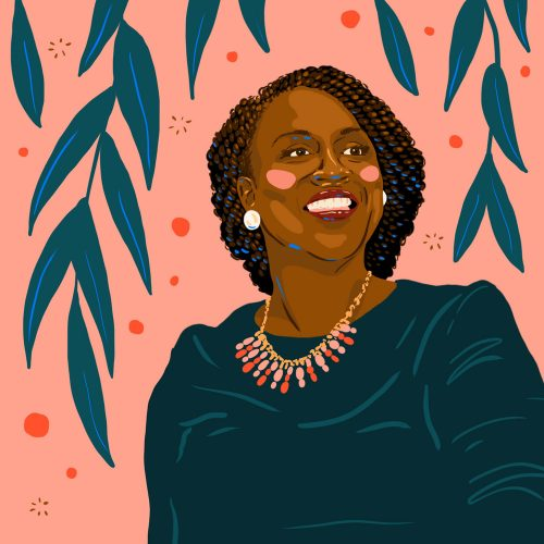Illustrations by Monique Aimee – Ayanna Pressley