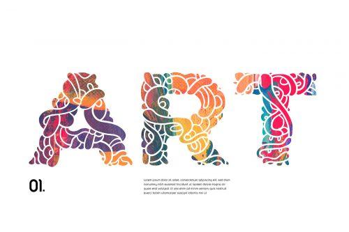 Batique Font Typeface – Indonesia Batik pattern Poster Design – Art