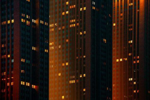 Neo Moscow Russian Yellow Glow Haze Photography