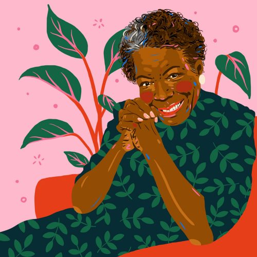 Illustrations by Monique Aimee – Maya Angelou
