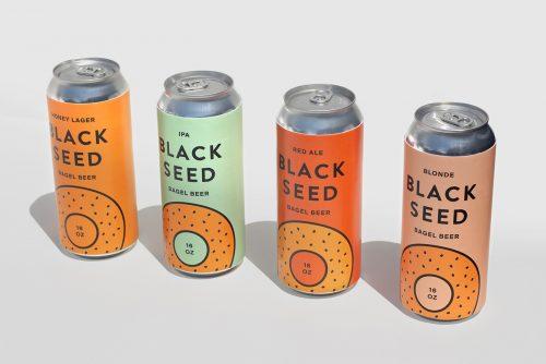 BLACK SEED BAGELS Brand Identity Branding Design