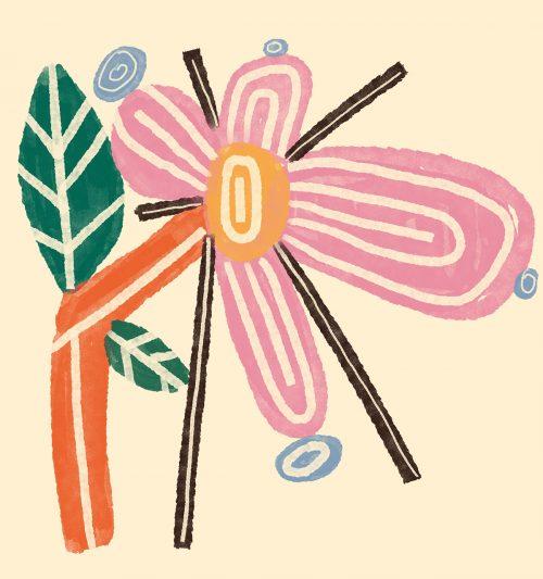 Flower Power Illustrations