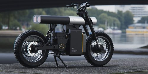 PUNCH NEW ERA OF ELECTRIC EV URBAN MOTORCYCLES SCOOTER 3D MODEL D