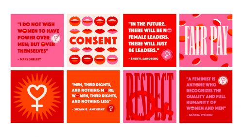 International Women's Day Women's Rights Graphic Design
