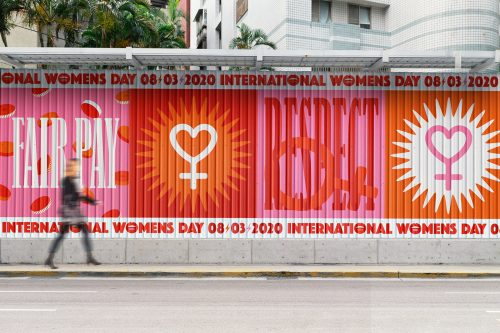 International Women's Day Women's Rights Graphic Design