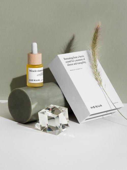 Henua Organics Makeup Skincare – Summer 2020 Product Photography Branding Packaging Design