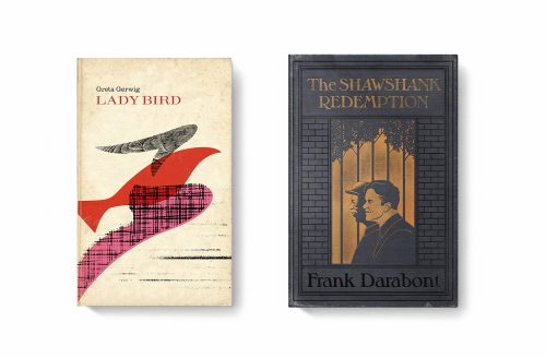 Good Movies as Old Books Avant Garde Vintage Designs Book Cover Illustrations – Lady Bird  ...