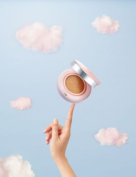 Creative Product Photography Layout Examples Makeup Cosmetic Clouds