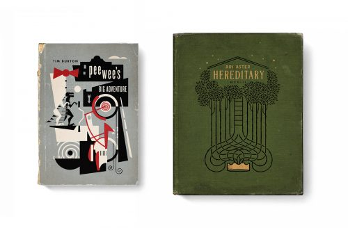 Good Movies as Old Books Avant Garde Vintage Designs Book Cover Illustrations – Pee Wee ...