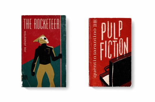 Good Movies as Old Books Avant Garde Vintage Designs Book Cover Illustrations – The Rocket ...