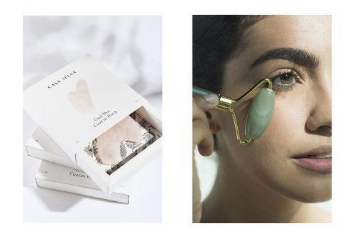 Casa Selva skincare line rebrand branding packaging product photography health beauty makeup