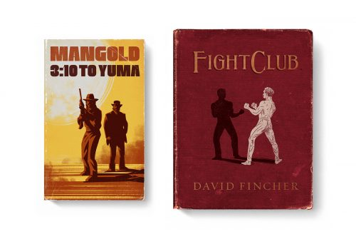 Good Movies as Old Books Avant Garde Vintage Designs Book Cover Illustrations – 3:10 to Yu ...