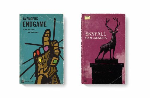 Good Movies as Old Books Avant Garde Vintage Designs Book Cover Illustrations – Avengers S ...