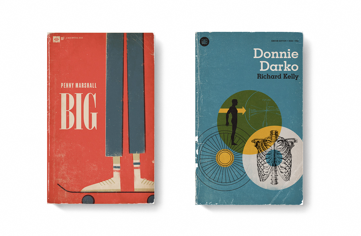 Good Movies as Old Books Avant Garde Vintage Designs Book Cover Illustrations – Big Donnie ...