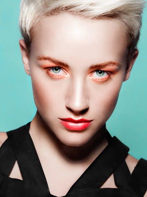 Flatland Vibrant Fashion Model Portrait Photography
