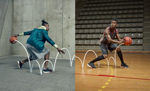 BKRW magazine editorial photography basketball dribble athlete sports