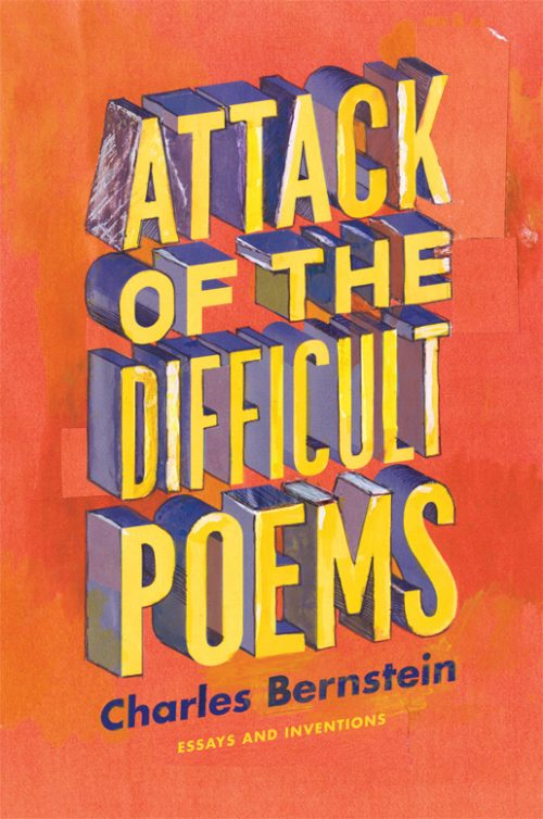 Novel Book Art Jacket Cover Design Story Editorial Magazine Attack of the Difficult Poems
