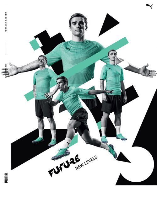 Puma Football Soccer World Cup 2018 Photography Sports Wear Fashion Athletic Design Primitive Shapes