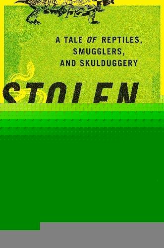 Novel Book Art Jacket Cover Design Story Editorial Magazine Reptiles Smugglers Glitch