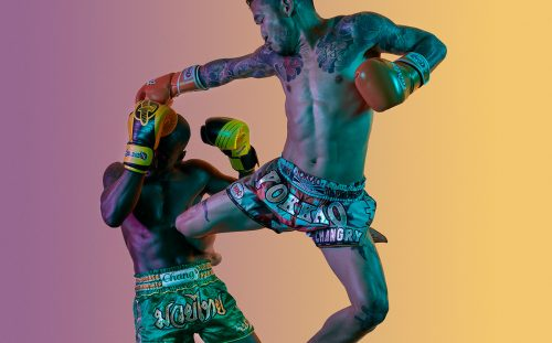 Anderson Martial Arts in New York Muay Thai Boxers Boxing Sports Photography