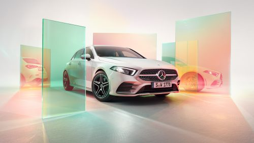 Mercedes Benz Luxury CGI Mathias Wilke and Recom Farmhouse's London studio pastel color au ...