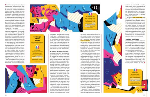 Galileu – Janeiro 2019 Bold Dynamic Vibrant Typography Magazine Editorial Illustrations