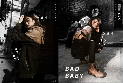 Bad Baby Project to Kill You Photography Editorial Fashion Layout Black and White