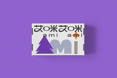 Ami Ami Brand japanese packaging design and branding