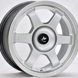 AU AU-420 15x7 Hyper Silver with Machine Lip