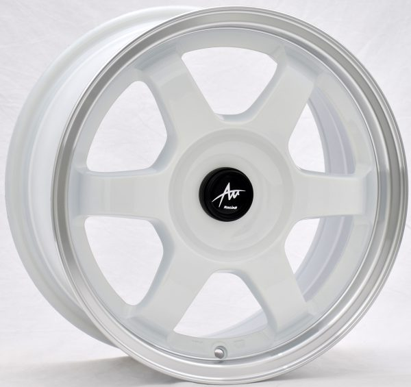AU AU-420 15x7 Gloss White with Machine Lip