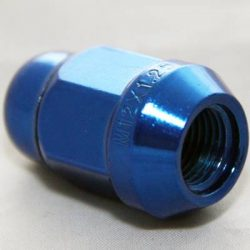 Anodized Tapered Nuts (Blue)