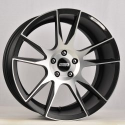 BSA BSA-1 20x8.5 Gloss Black with Machine Face