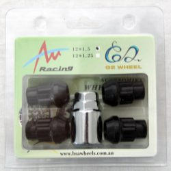 Black (Tapered/Acorn) Lock Nuts