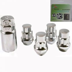 Chrome (Tapered/Acorn) Lock Nuts