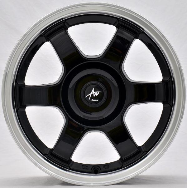 AU AU-420 16x7 Gloss Black with Machine Lip