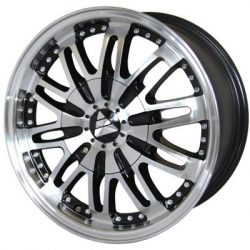 G2 G2-102 16x7.5 Gloss Black with Machine Face