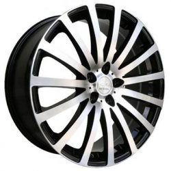G2 G2-179 16x7 Gloss Black with Machine Face