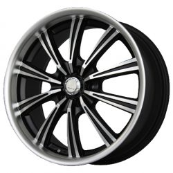 G2 G2-182 18x8 Gloss Black with Machine Face