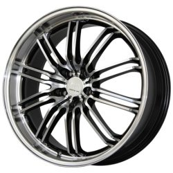 G2 G2-184 20x8.5 Gloss Black with Machine Face