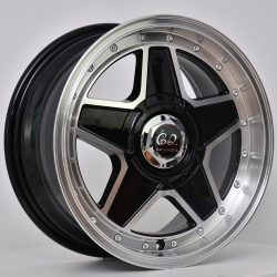 G2 G2-21 15x7 Gloss Black with Machine Face