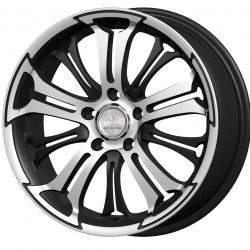 G2 G2-268 18x7.5 Gloss Black with Machine Face