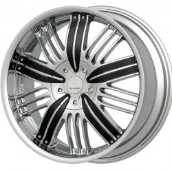 G2 G2-285 20x8.5 Chrome with Paintable Inserts