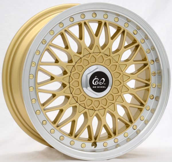 G2 G2-29 15x7 Gold with Machine Lip