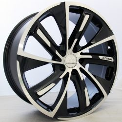 G2 G2-31 Version 1 20x9 Gloss Black with Machine Face