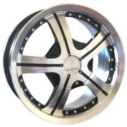 G2 G2-316 17x7 Gloss Black with Machine Face