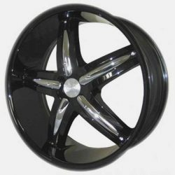 G2 G2-320 19x8 Gloss Black with Paintable Inserts