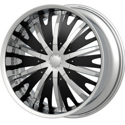 G2 G2-348 20x8.5 Chrome with Paintable Inserts
